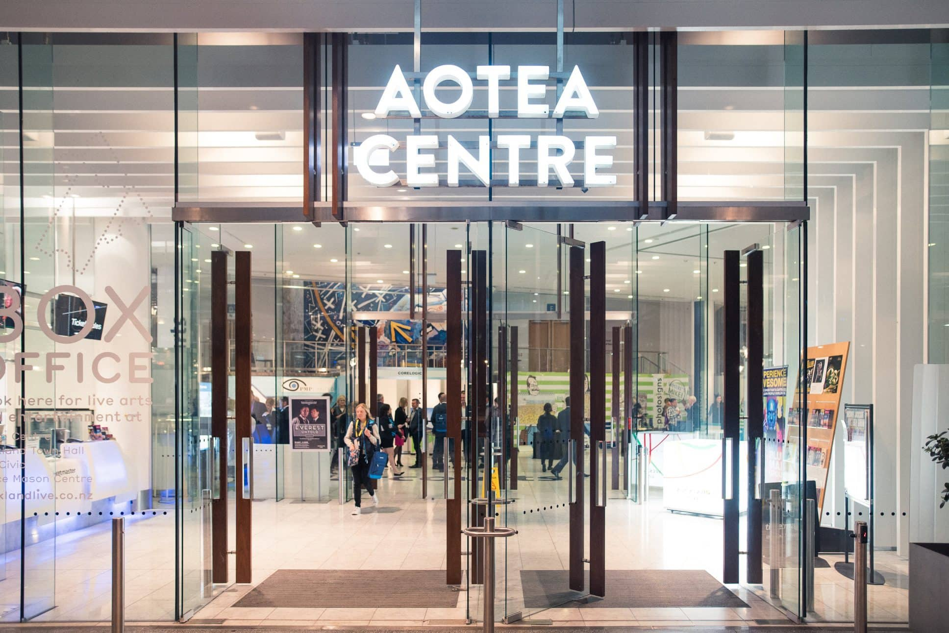 Event held at Aotea Centre