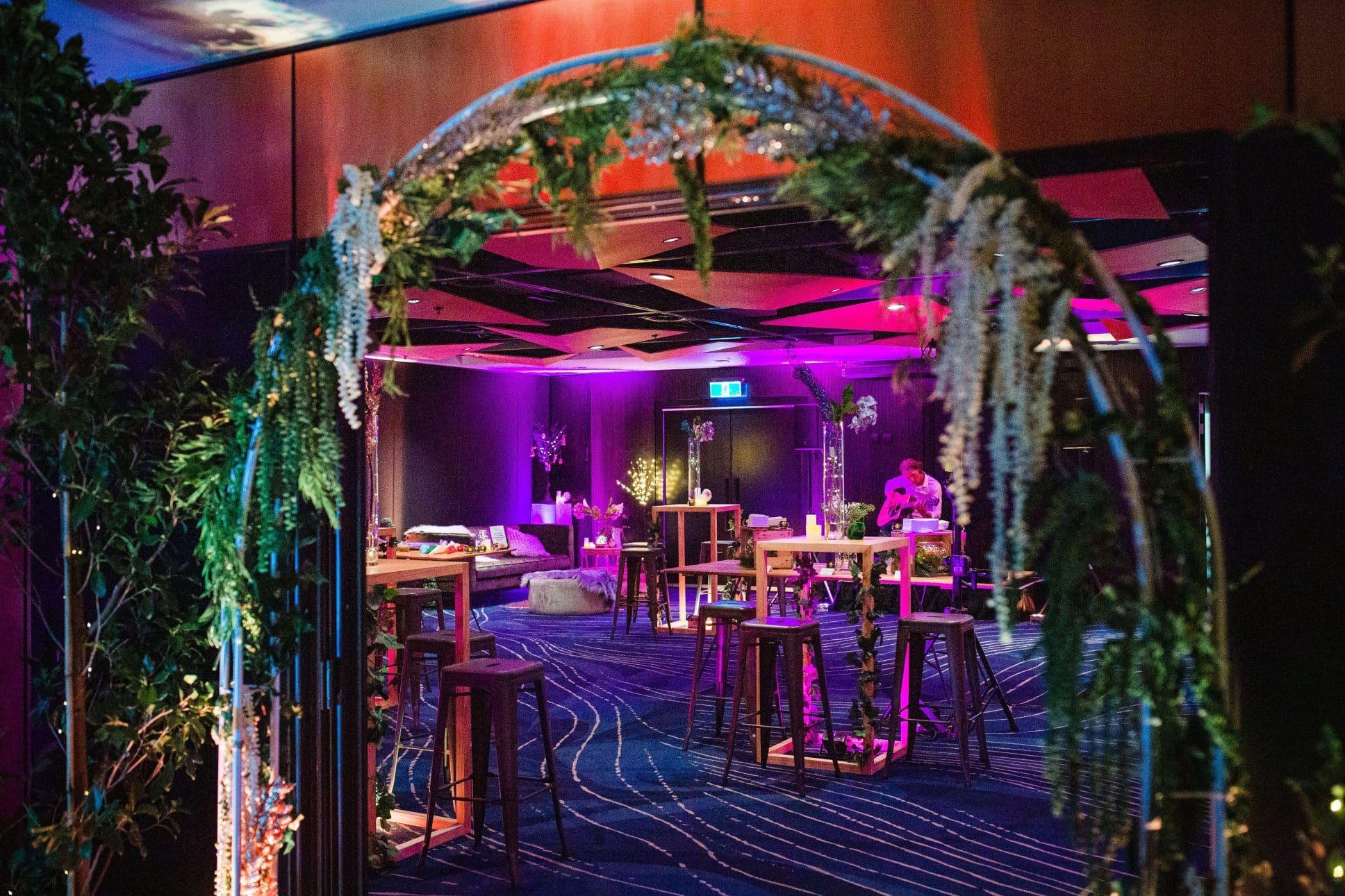 Auckland's Aotea Centre hosting a function.
