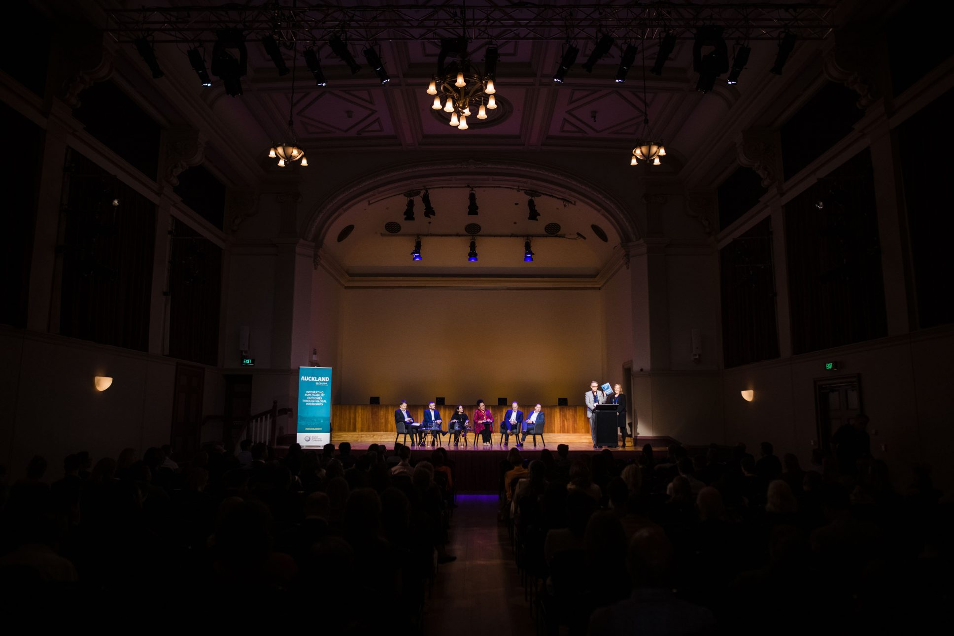 Auckland Town Hall hosting an event