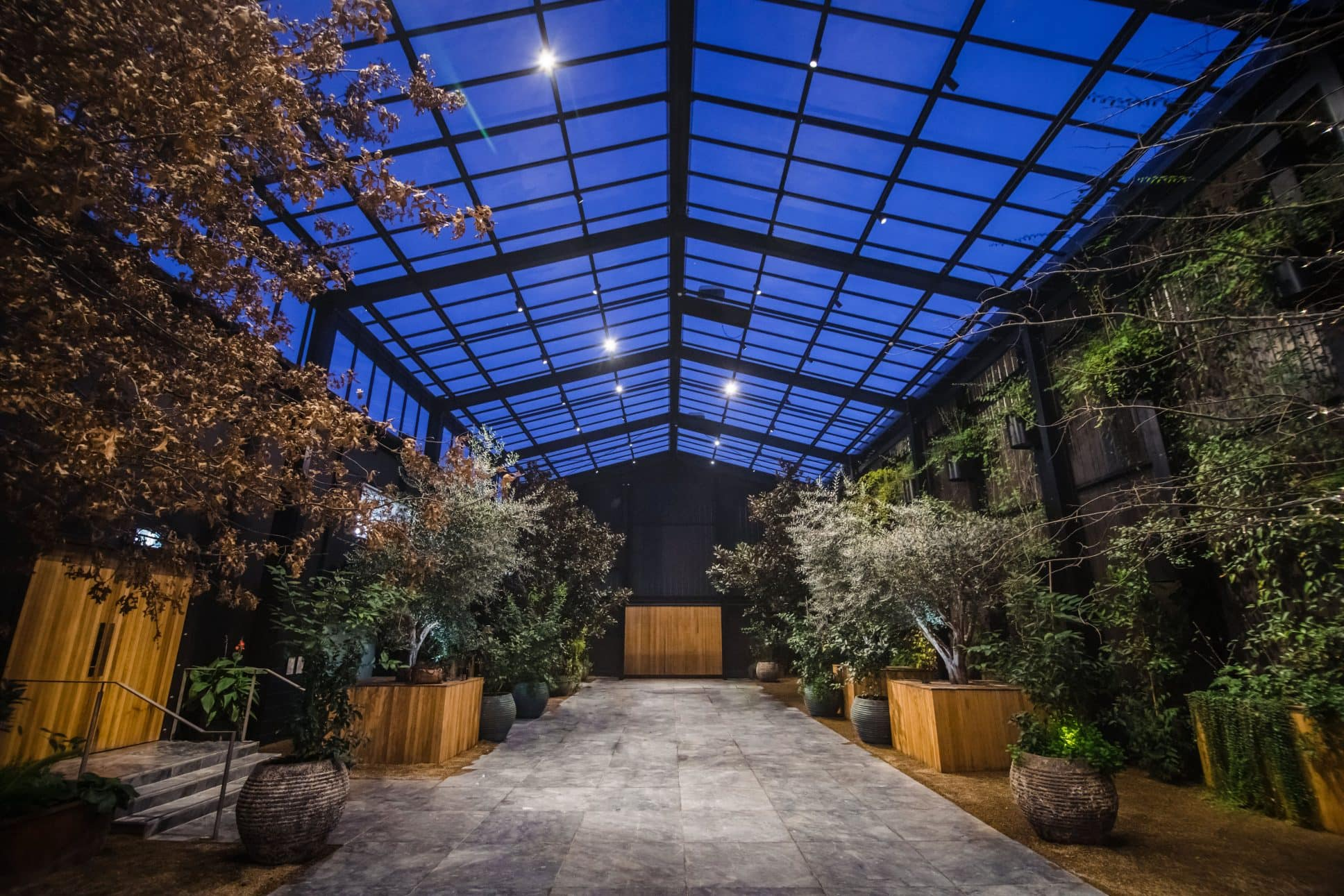 Event space in auckland called The Glasshouse