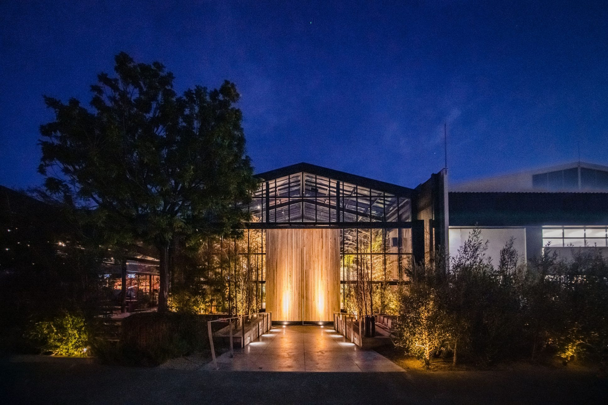 The Glasshouse event venue in Auckland
