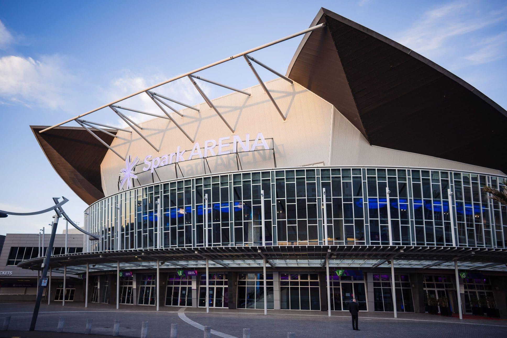 Auckland venue Spark Arena.