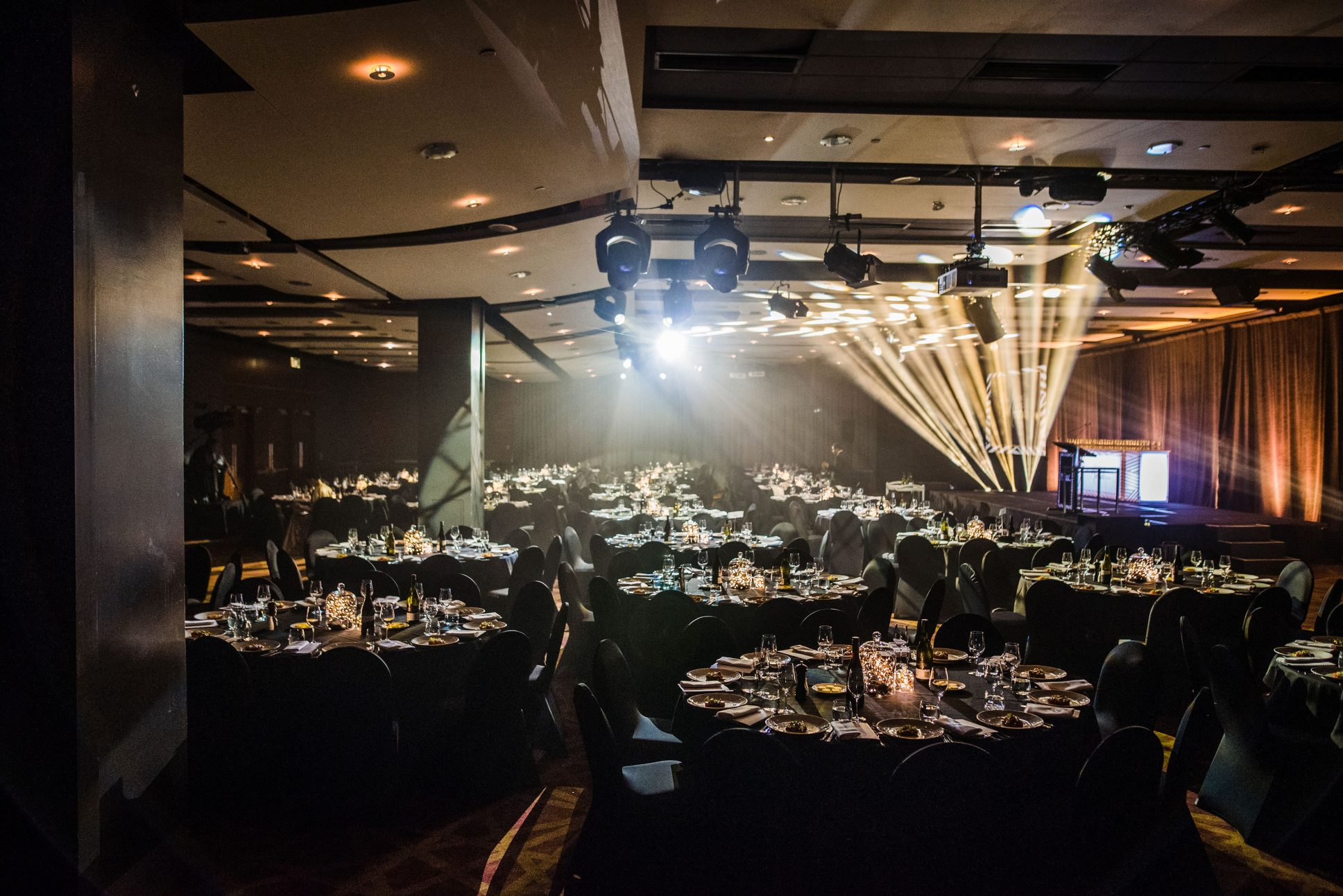the Princes Ballroom event at Pullman Auckland.