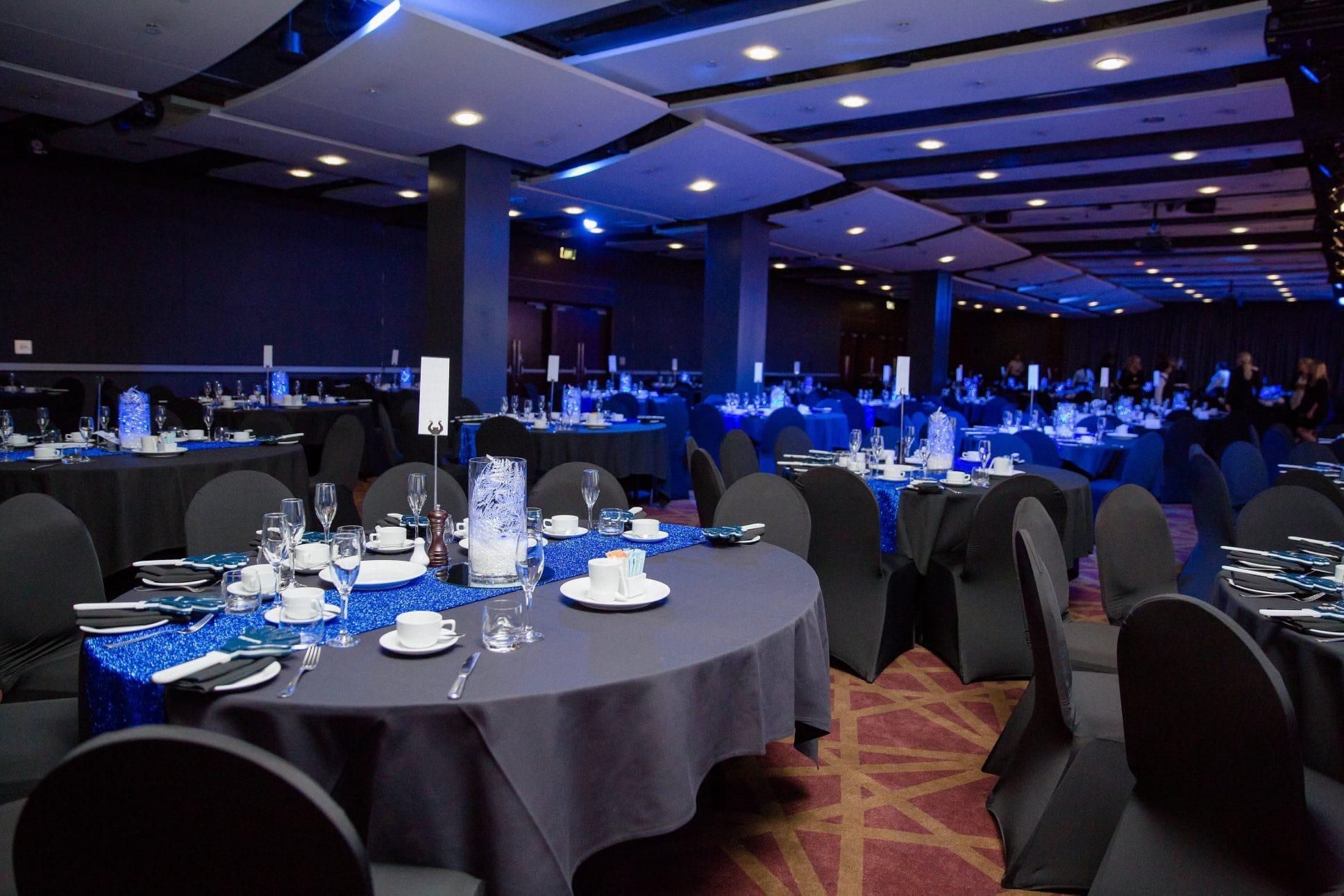 Pullman Auckland gala-dinner event.