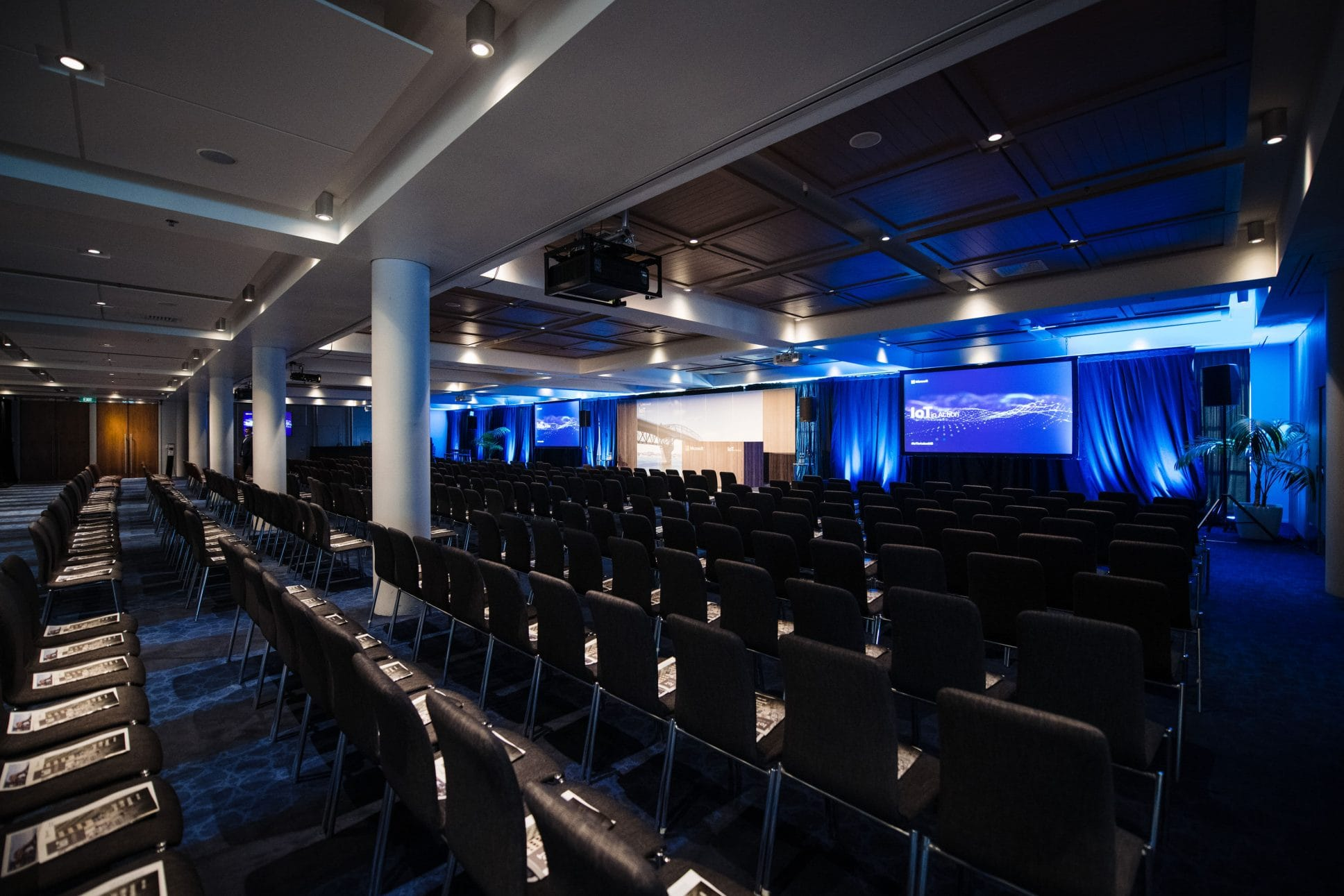 Conference event at Hilton Auckland.