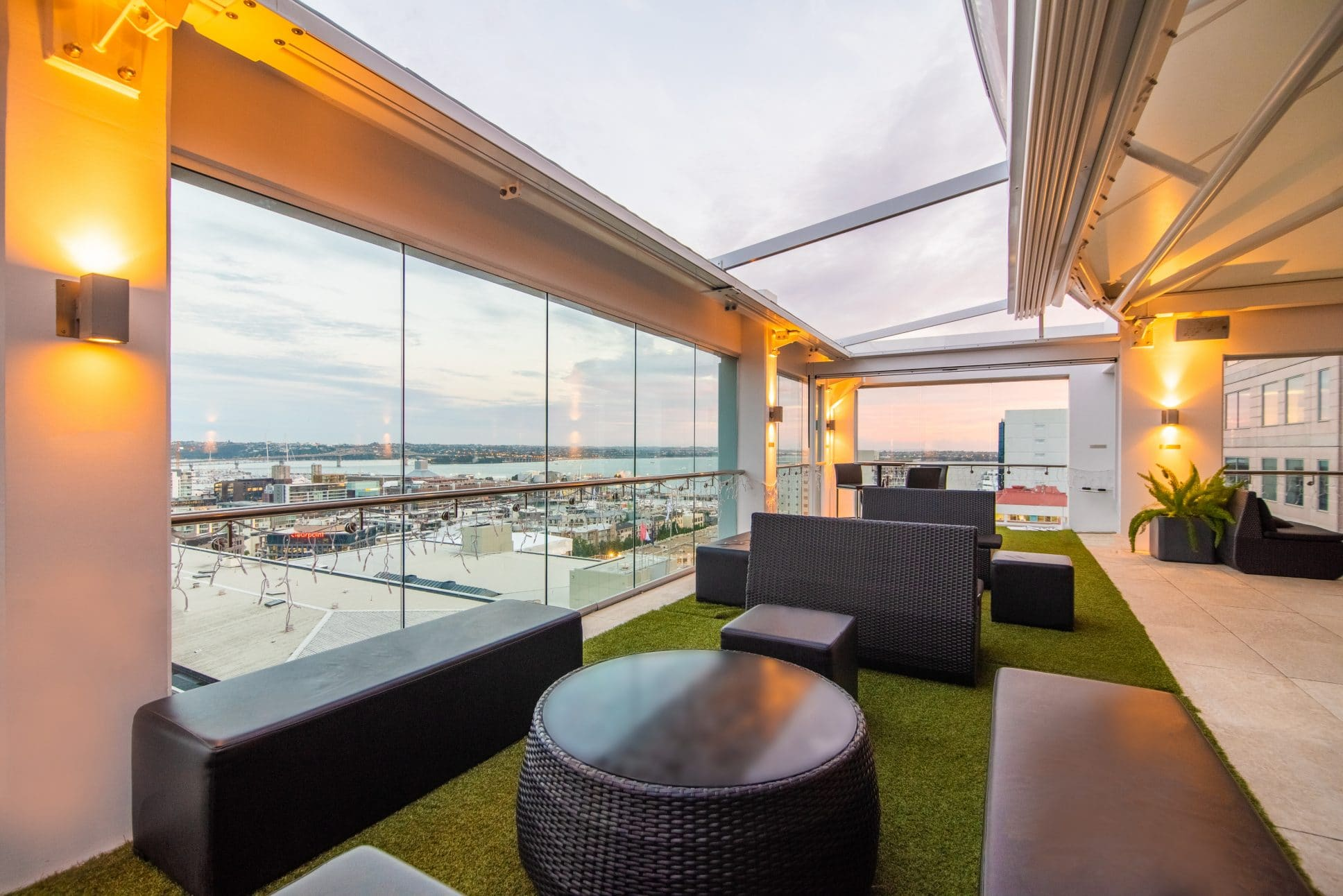 Rydges Auckland event space.