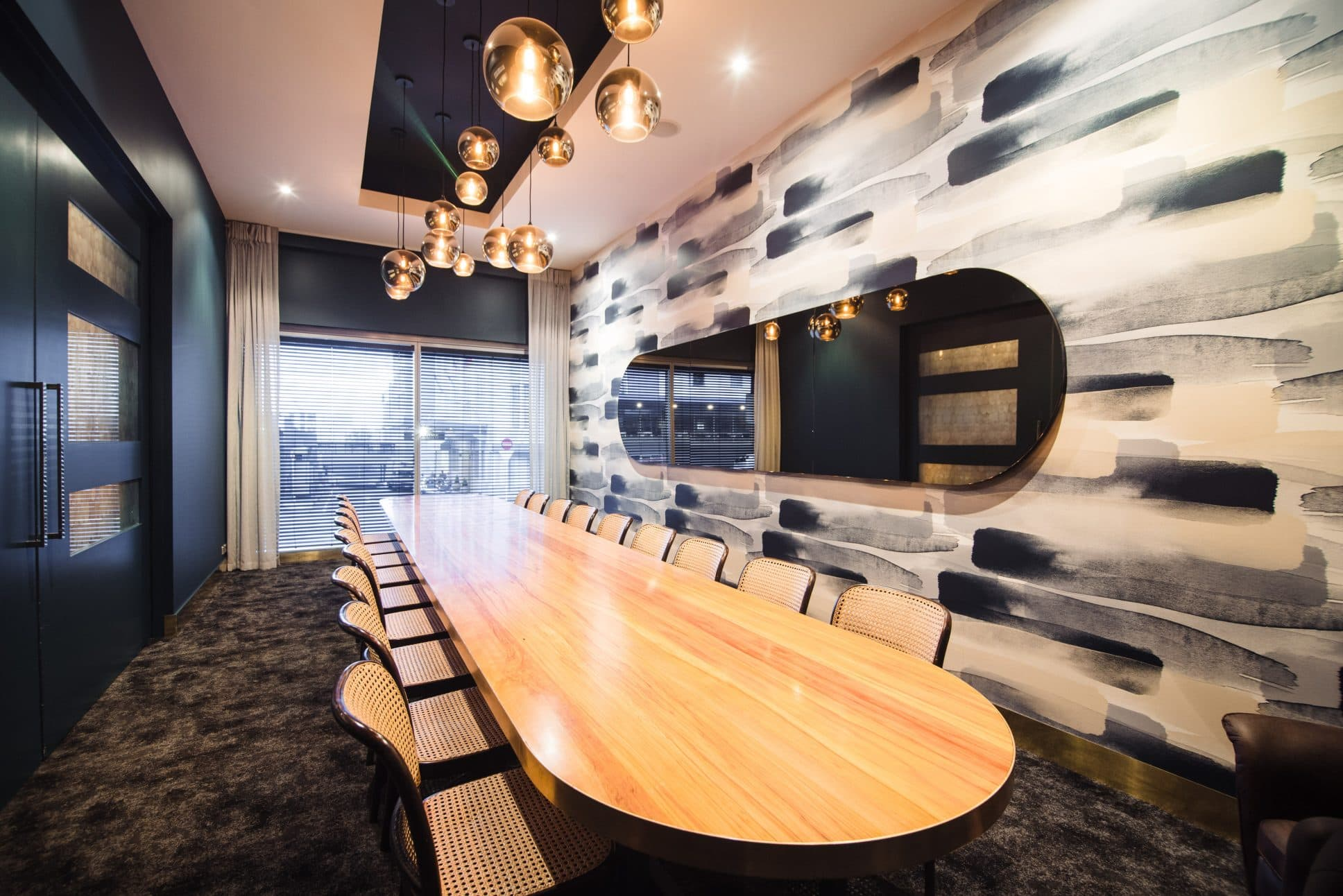 Boardroom for event hire at Rydges Auckland.