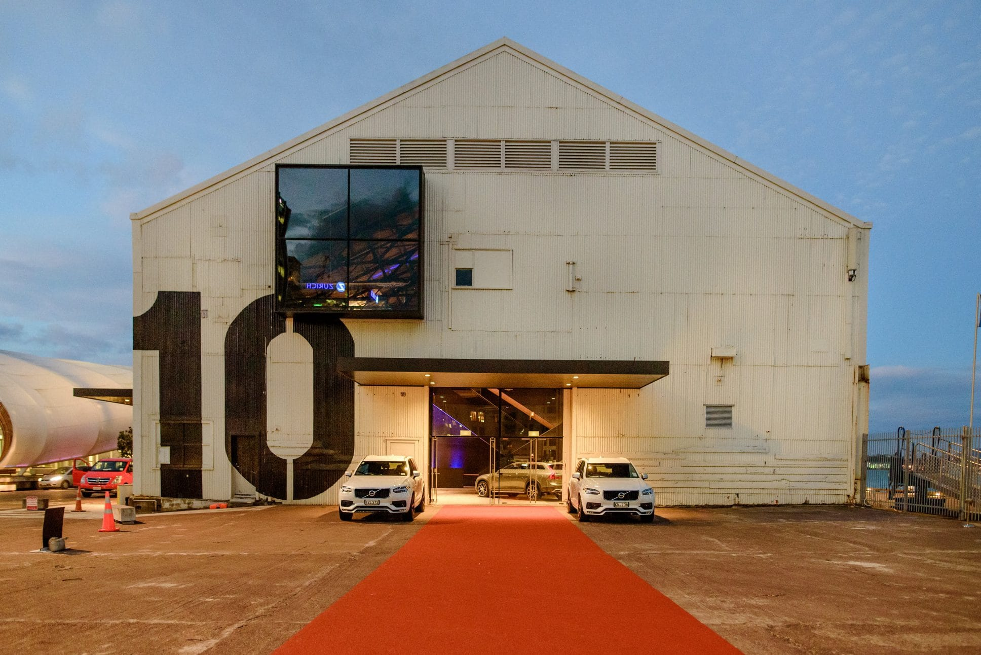 Launch event at Auckland's Shed 10