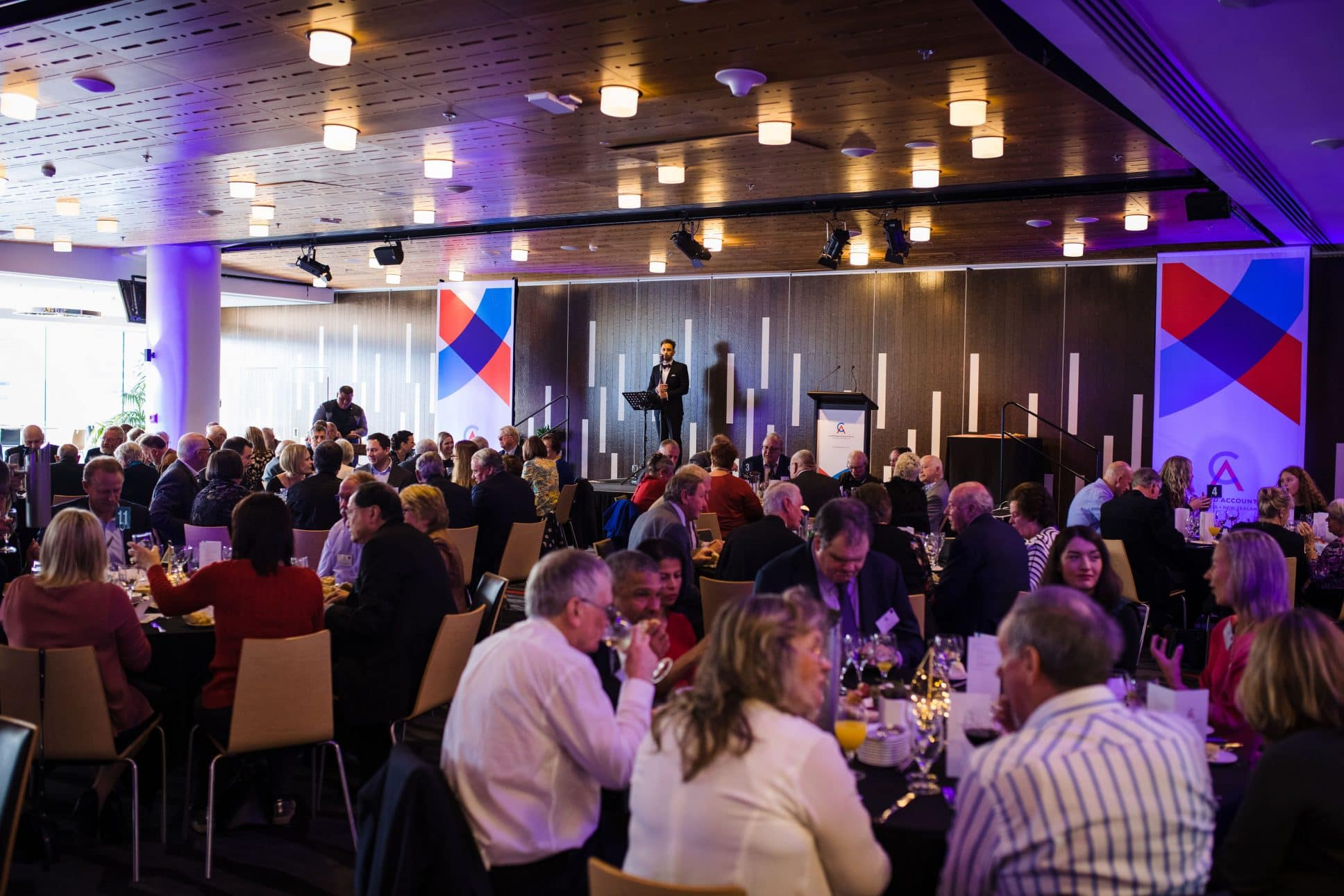 Awards evening on Auckland at Eden Park.