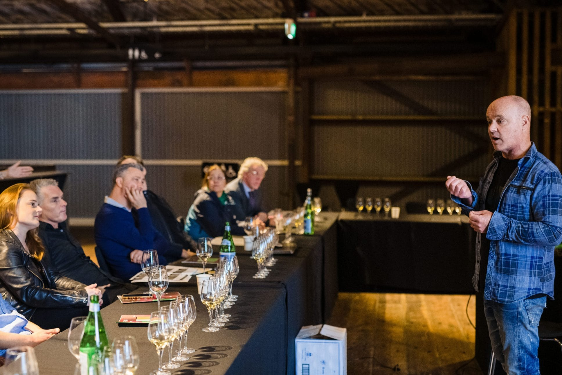 Shed 10 Auckland wine tasting event