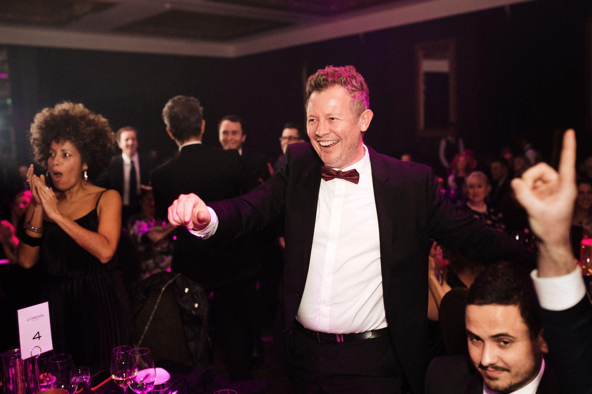 Cordis Auckland Westpac business awards event