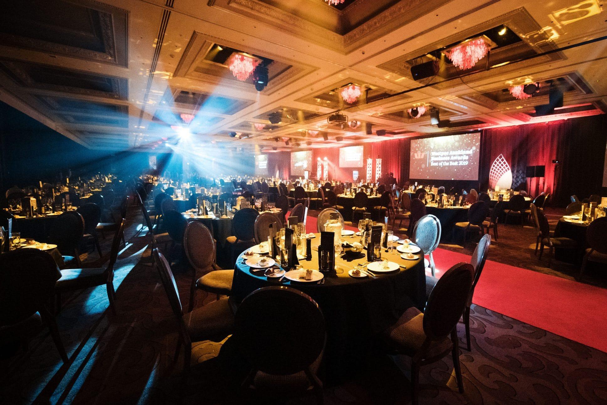 Auckland event Westpac business awards